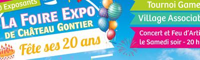 Participation à la foire d'exposition de Château Gontier